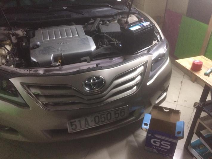 thay bình điện ô tô